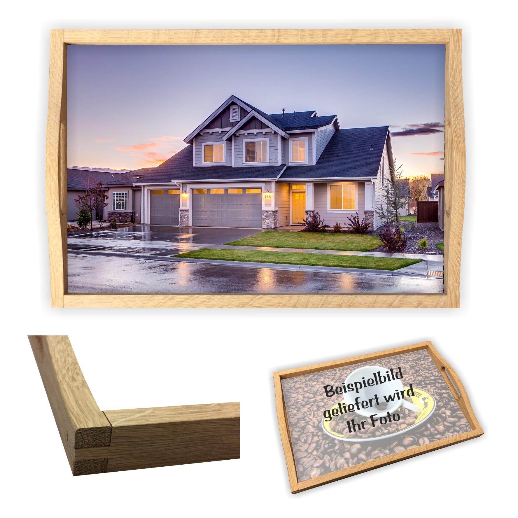 tablett geschenk zur einweihung haus eigenheim mit. Black Bedroom Furniture Sets. Home Design Ideas